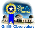 Griffith Observatory Star Award